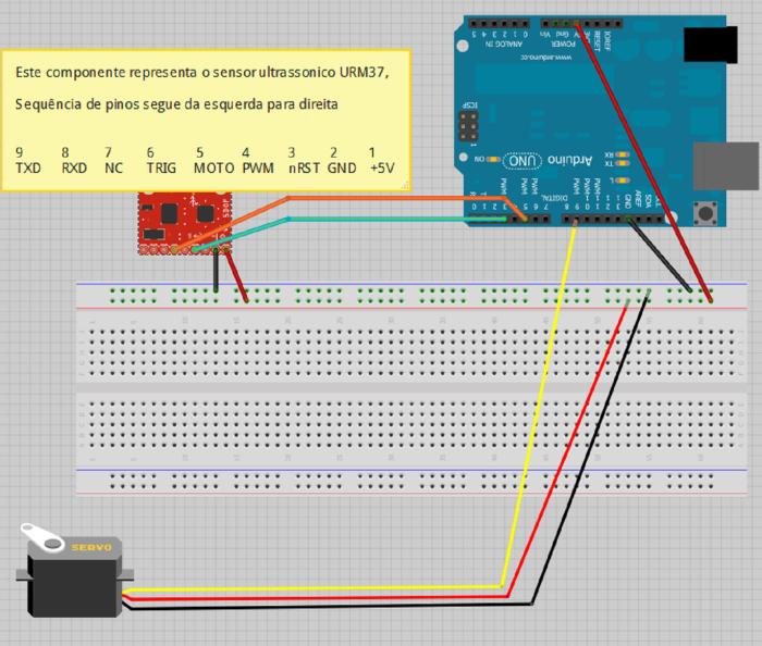Projeto Sensor URM37